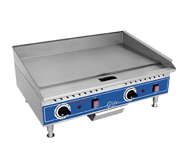 Globe PG24E griddle, electric, countertop