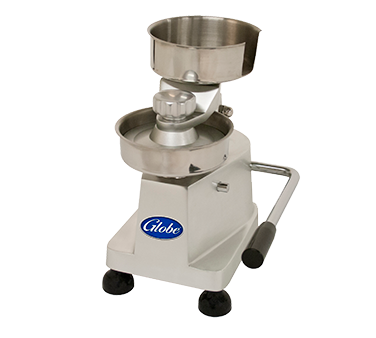 Globe PP5 hamburger patty press, countertop