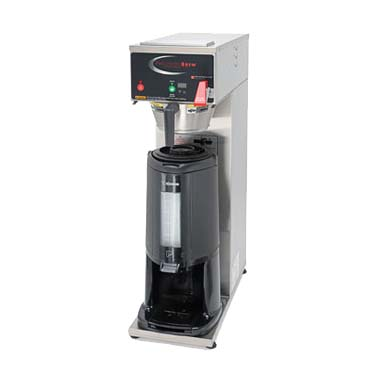 Grindmaster-Cecilware B-SGP coffee brewer for thermal server