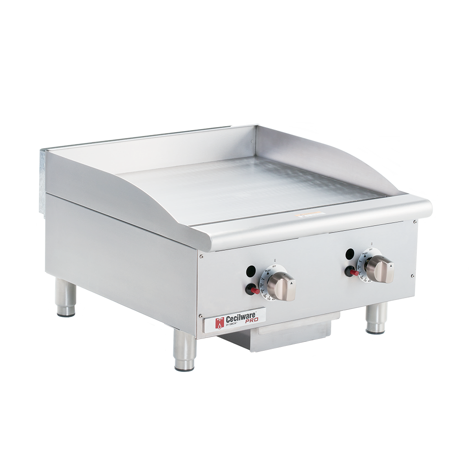 Grindmaster-Cecilware CE-G24TPF griddle, gas, countertop