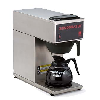 Grindmaster-Cecilware CPO-1P-15A coffee brewer for decanters