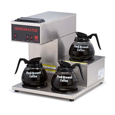 Grindmaster-Cecilware CPO-3RP-15A coffee brewer for decanters