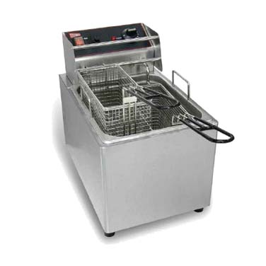 Grindmaster-Cecilware EL25 fryer, electric, countertop, full pot