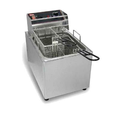 Grindmaster-Cecilware EL25 fryer, electric, countertop, full pot