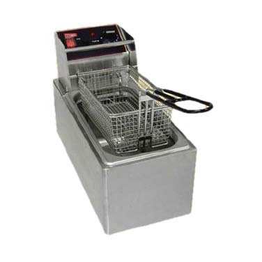 Grindmaster-Cecilware EL6 fryer, electric, countertop, full pot