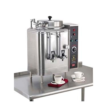 Grindmaster-Cecilware FE75N coffee brewer urn, high volume