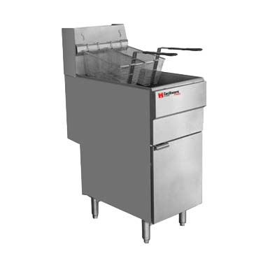 Grindmaster-Cecilware FMS403NAT fryer, gas, floor model, full pot