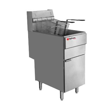 Grindmaster-Cecilware FMS504NAT fryer, gas, floor model, full pot