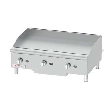 Grindmaster-Cecilware GCP36 griddle, gas, countertop