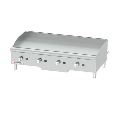 Grindmaster-Cecilware GCP48 griddle, gas, countertop