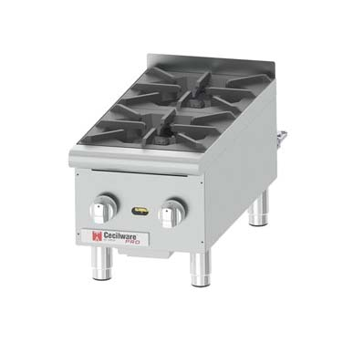 Grindmaster-Cecilware HPCP212 hotplate, countertop, gas