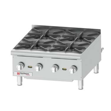 Grindmaster-Cecilware HPCP424 hotplate, countertop, gas