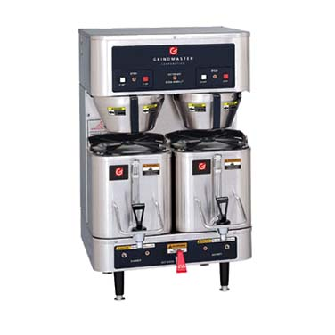 Grindmaster-Cecilware P400E coffee brewer for satellites