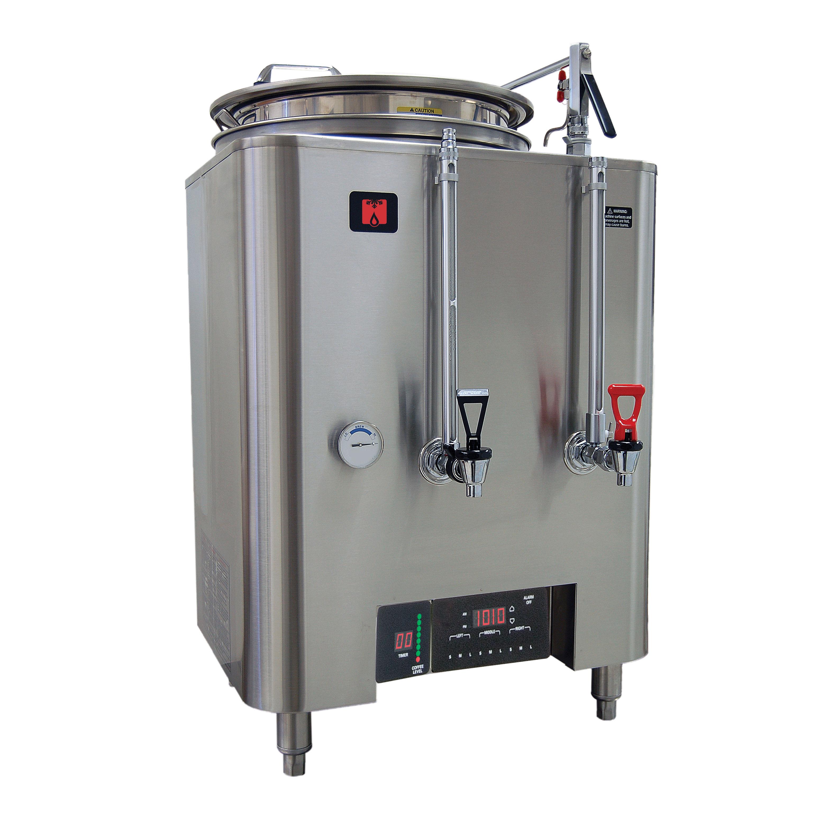 Grindmaster-Cecilware PB-8103E coffee brewer urn, high volume