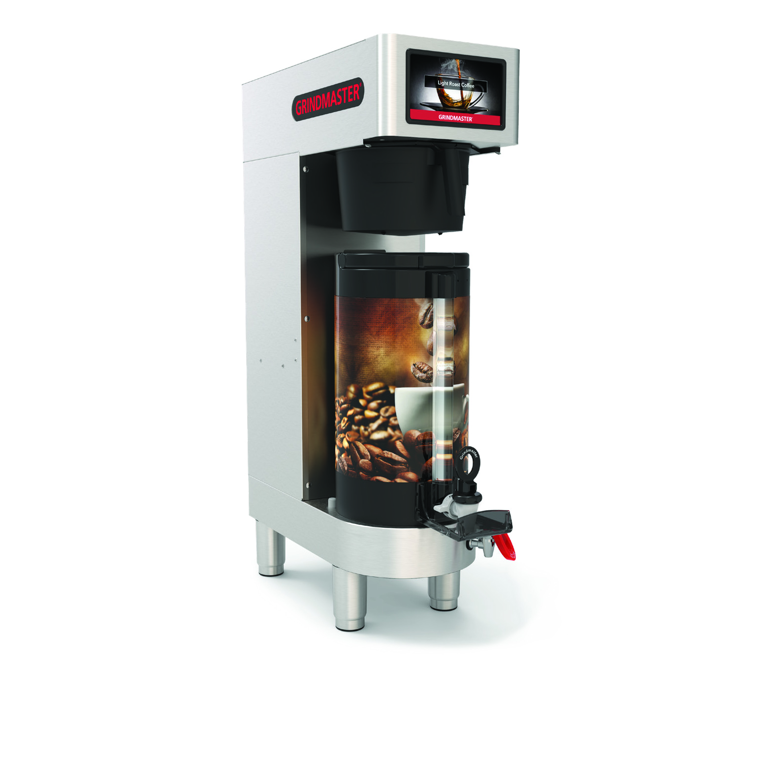 Grindmaster-Cecilware PBC-1V coffee brewer for thermal server