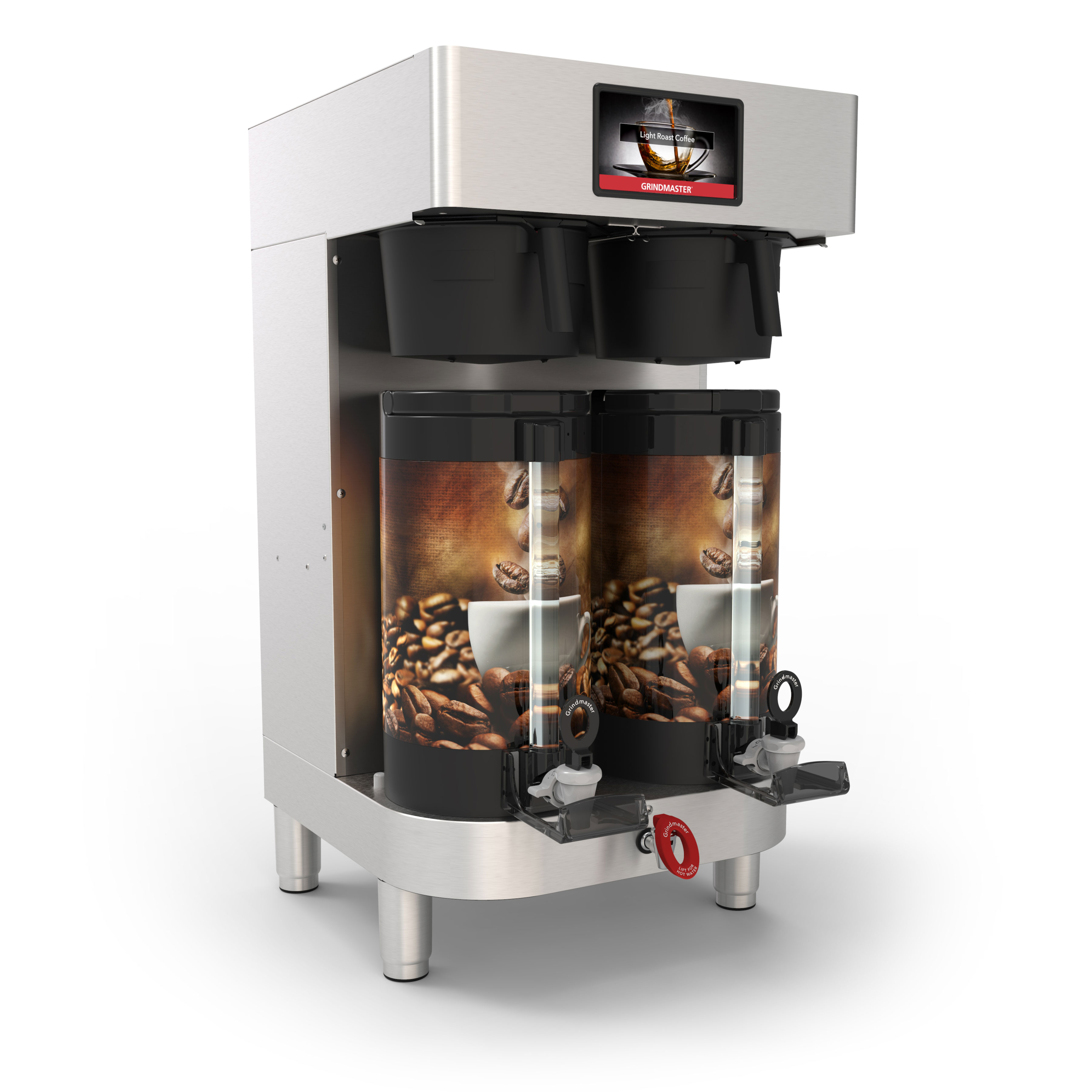 Grindmaster-Cecilware PBC-2V coffee brewer for thermal server