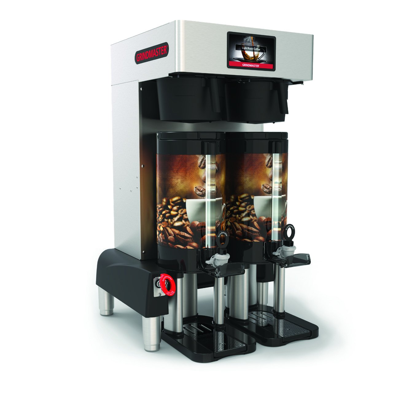 Grindmaster-Cecilware PBC-2VS coffee brewer for thermal server