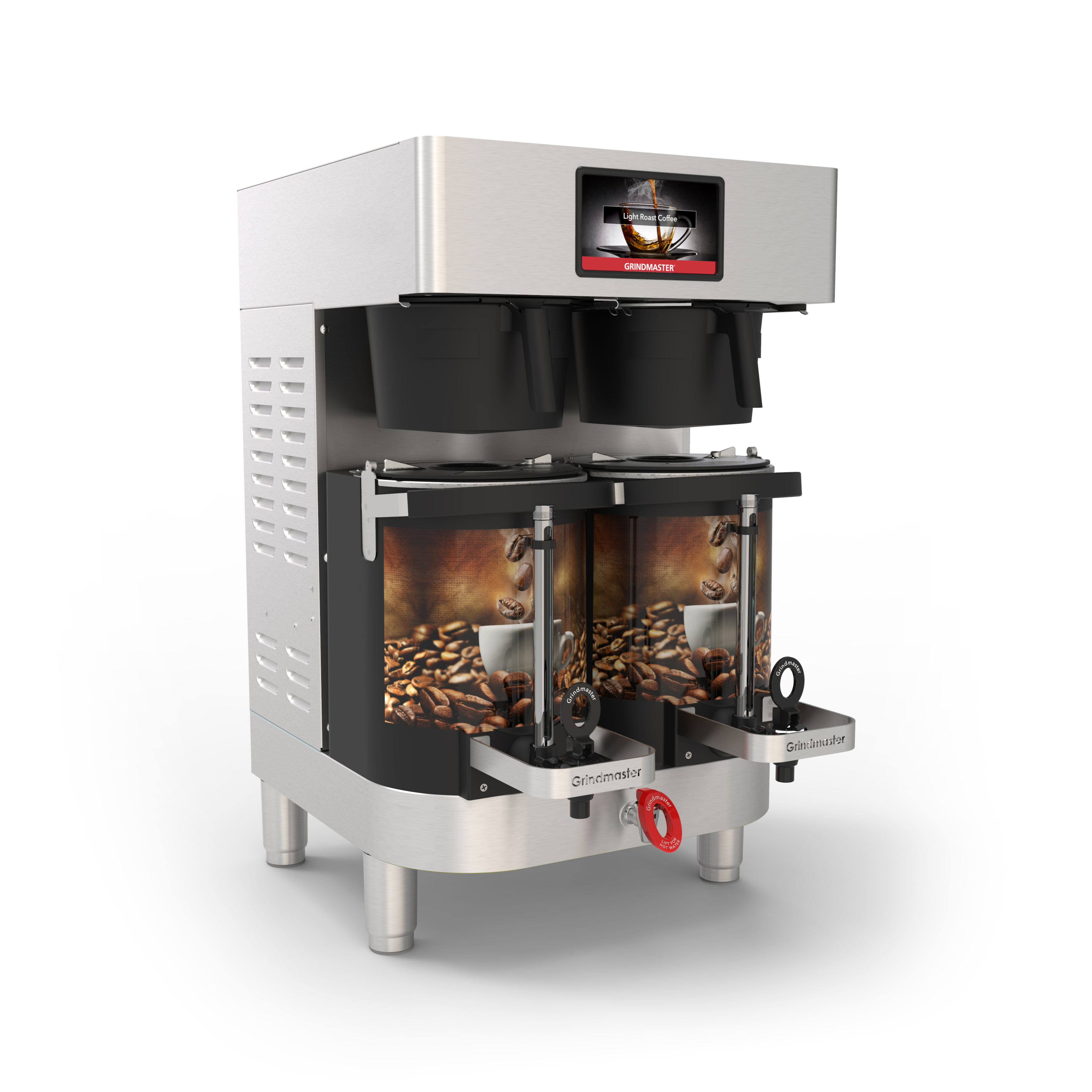 Grindmaster-Cecilware PBC-2W coffee brewer for satellites