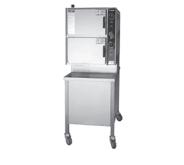 HY-6G Groen steamer, convection, gas, floor model
