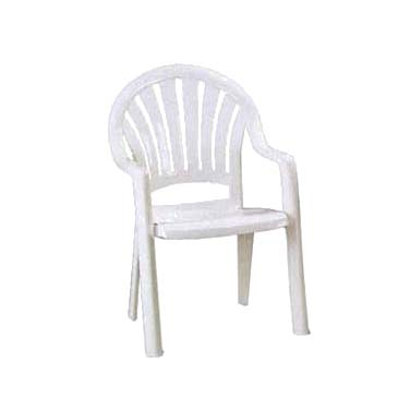 Grosfillex 49092004 chair, armchair, stacking, outdoor