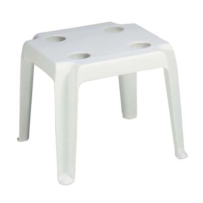Grosfillex 99018004 table, outdoor