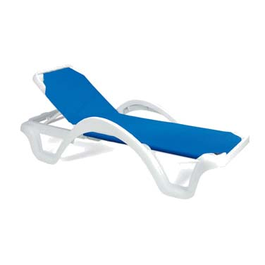 Grosfillex 99202099W chaise, outdoor