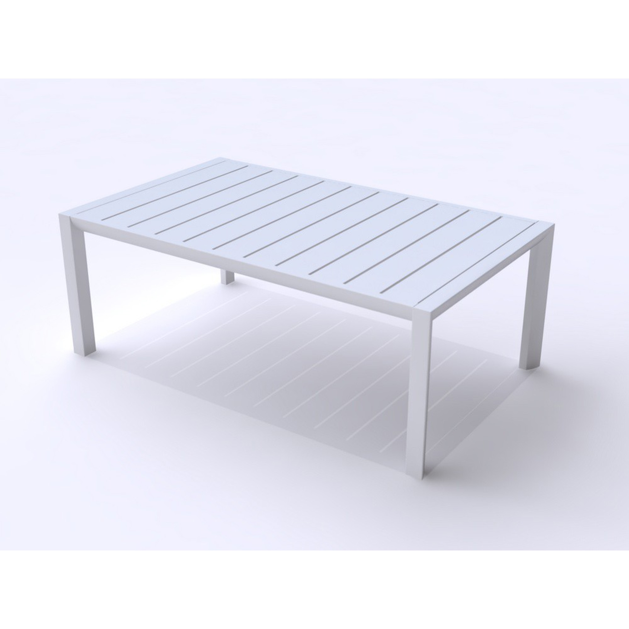 Grosfillex US004096 table, outdoor