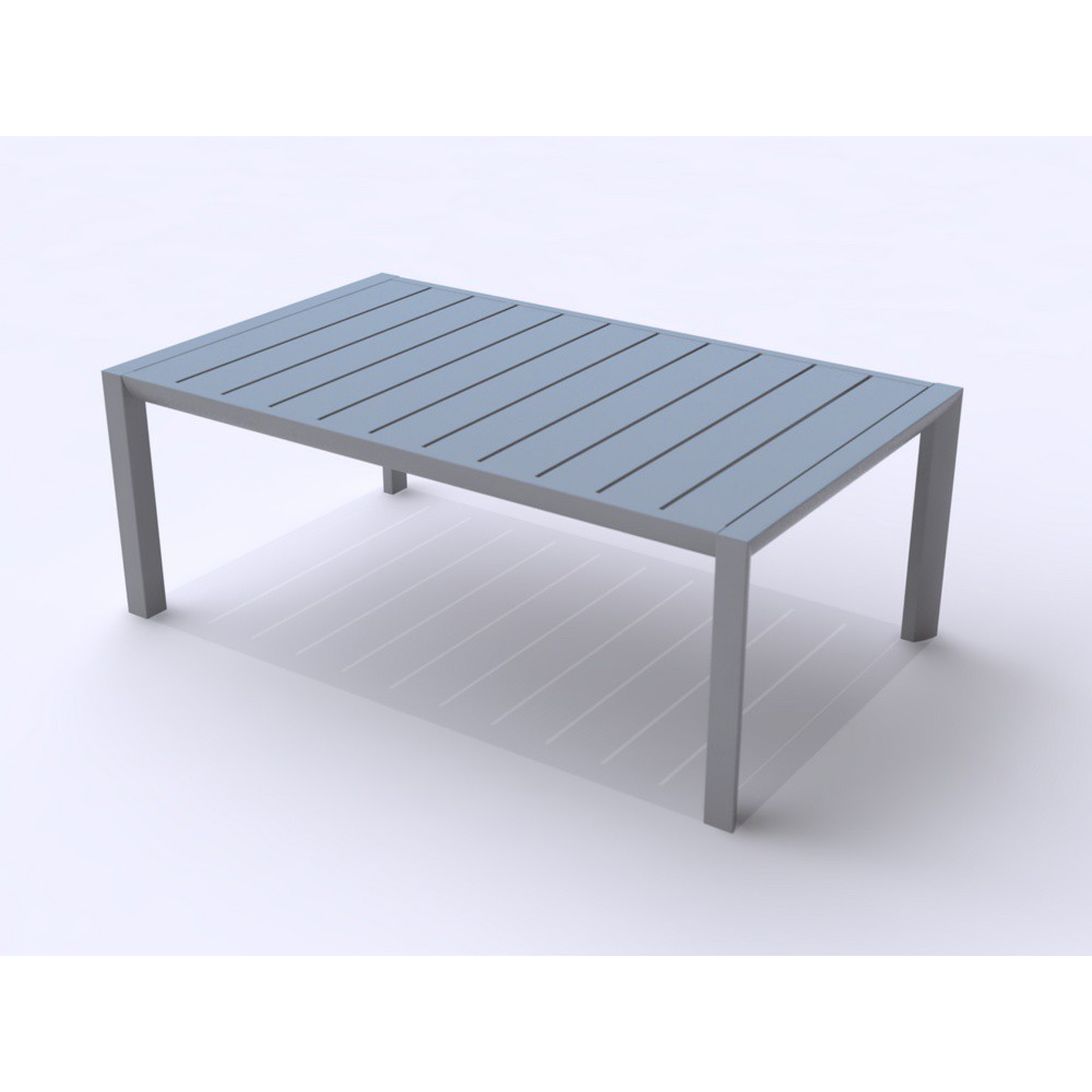 Grosfillex US004289 table, outdoor