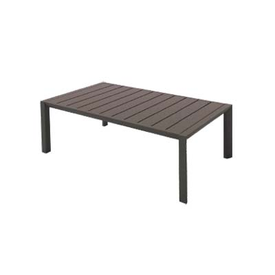 Grosfillex US004599 table, outdoor