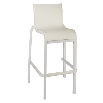 Grosfillex US030096 bar stool, stacking, outdoor