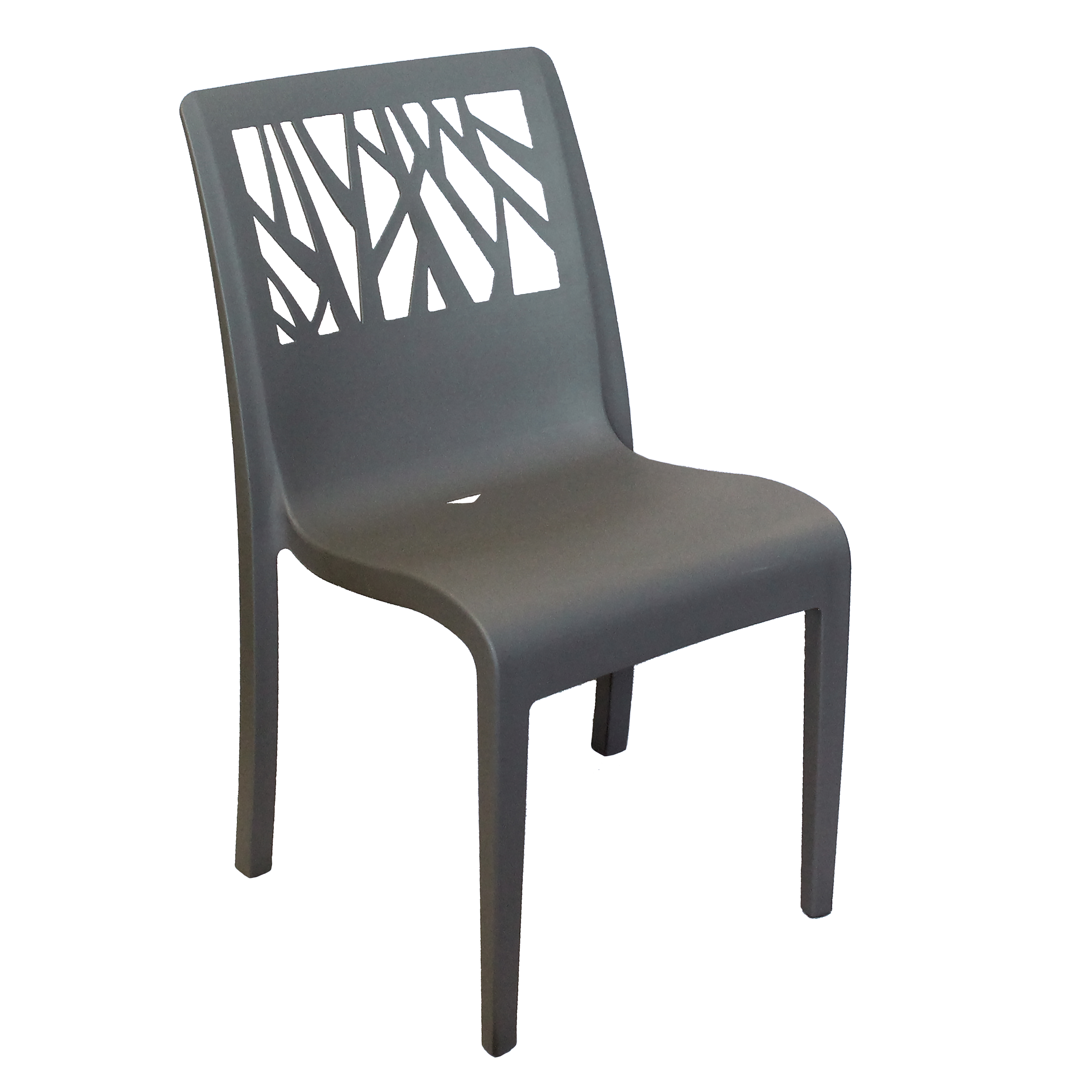 Grosfillex US117002 chair, side, stacking, outdoor