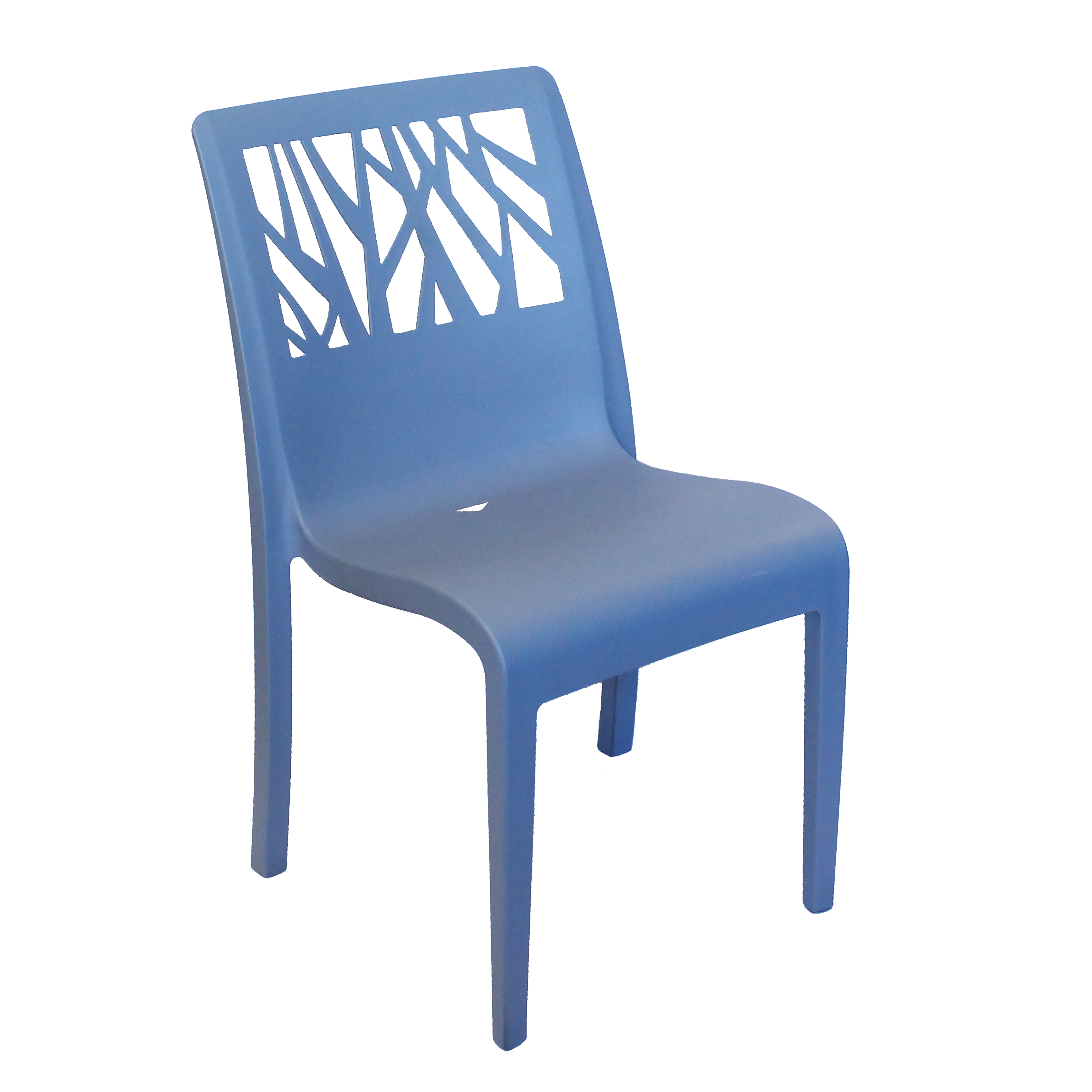 Grosfillex US117680 chair, side, stacking, outdoor