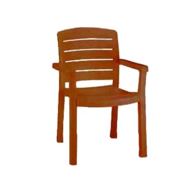 Grosfillex US119008 chair, armchair, stacking, outdoor