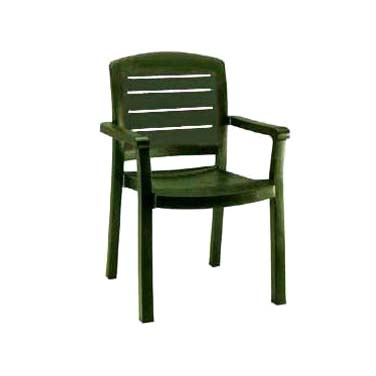 Grosfillex US119078 chair, armchair, stacking, outdoor
