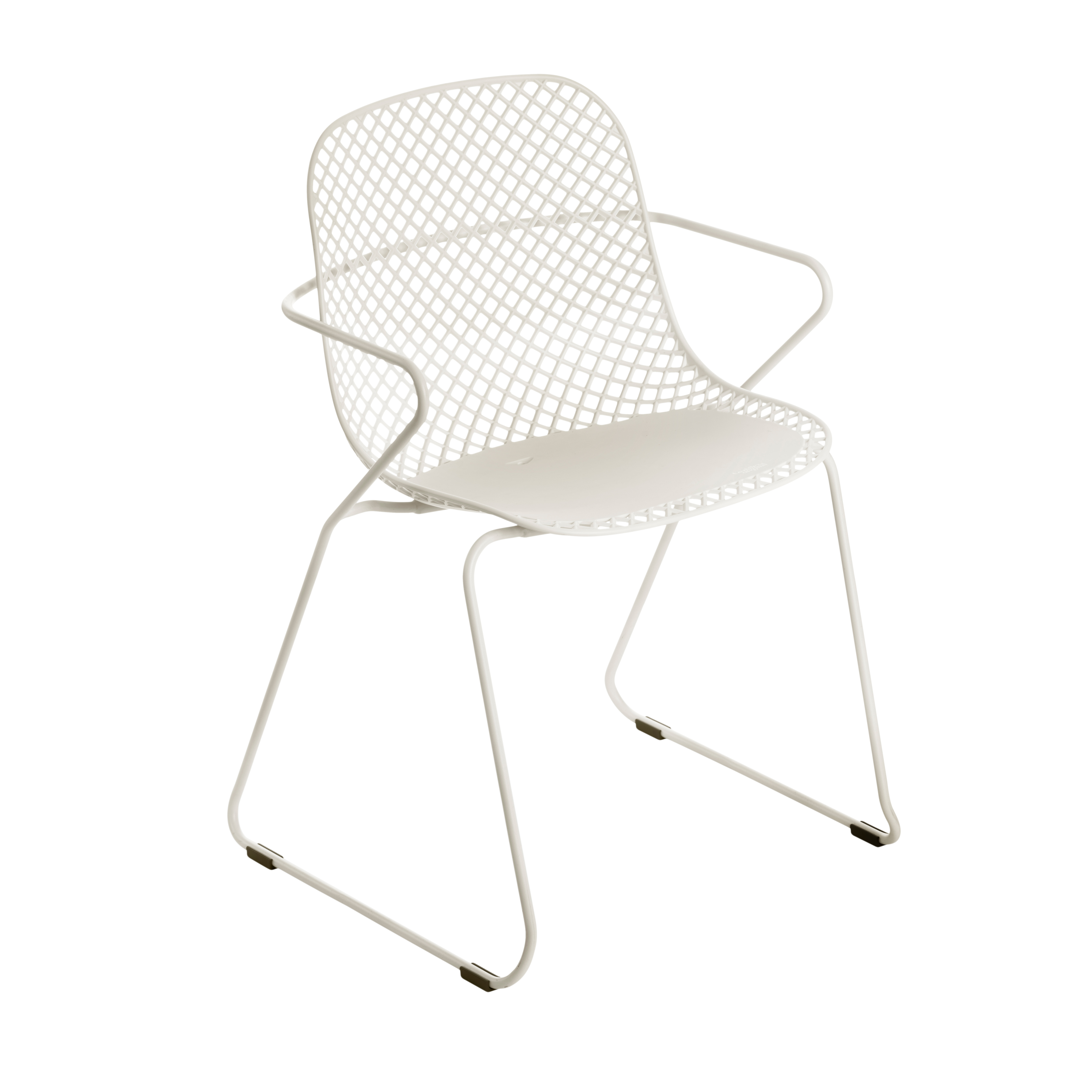 Grosfillex US137710 chair, armchair, stacking, outdoor
