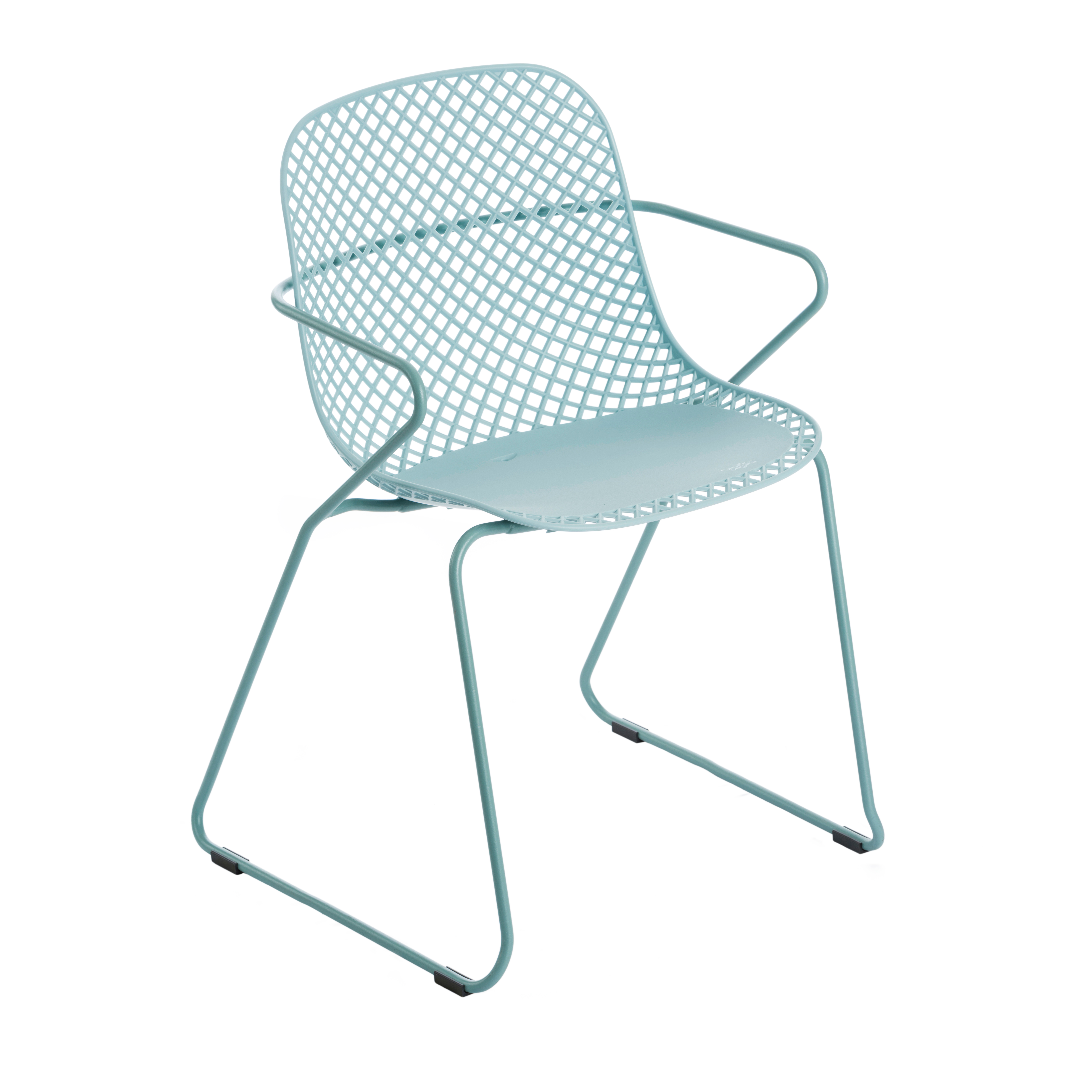Grosfillex US137711 chair, armchair, stacking, outdoor