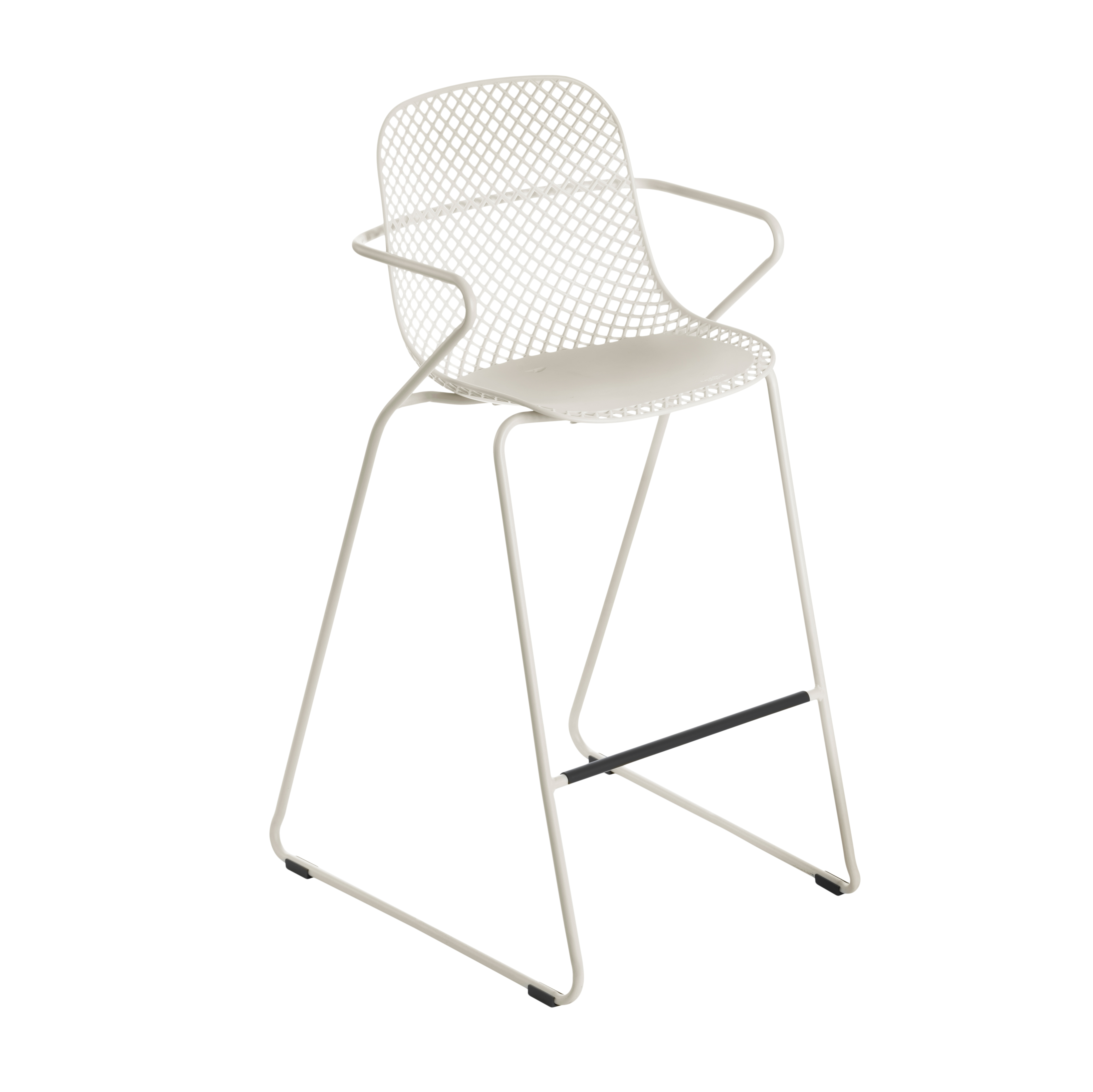Grosfillex US139710 bar stool, stacking, outdoor