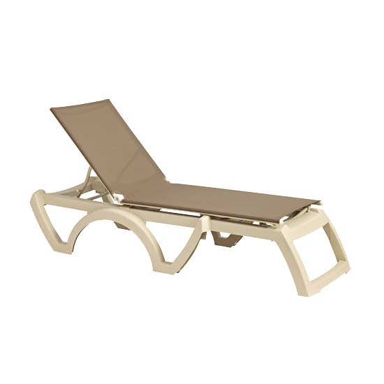 Grosfillex US166181 chaise, outdoor
