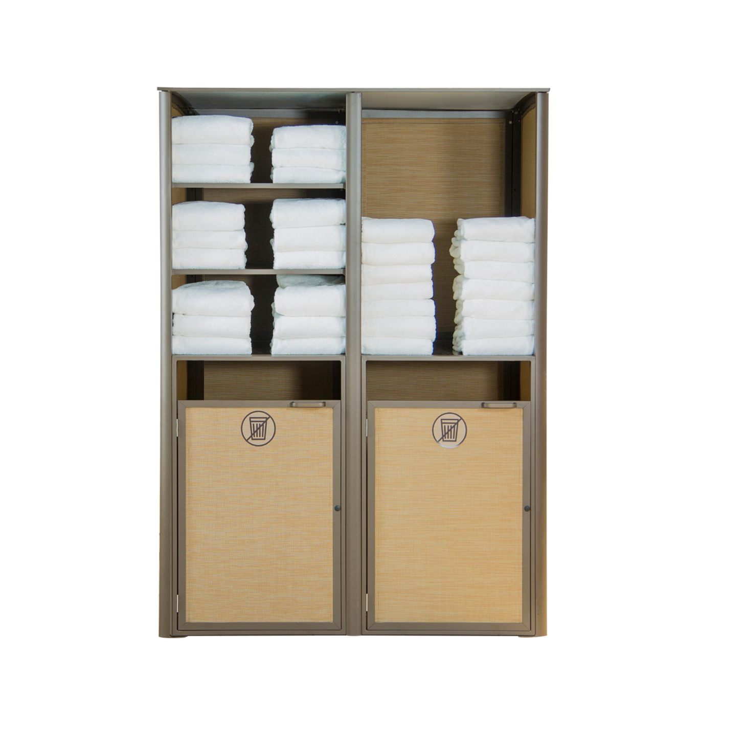 Grosfillex US173288 laundry housekeeping cabinet