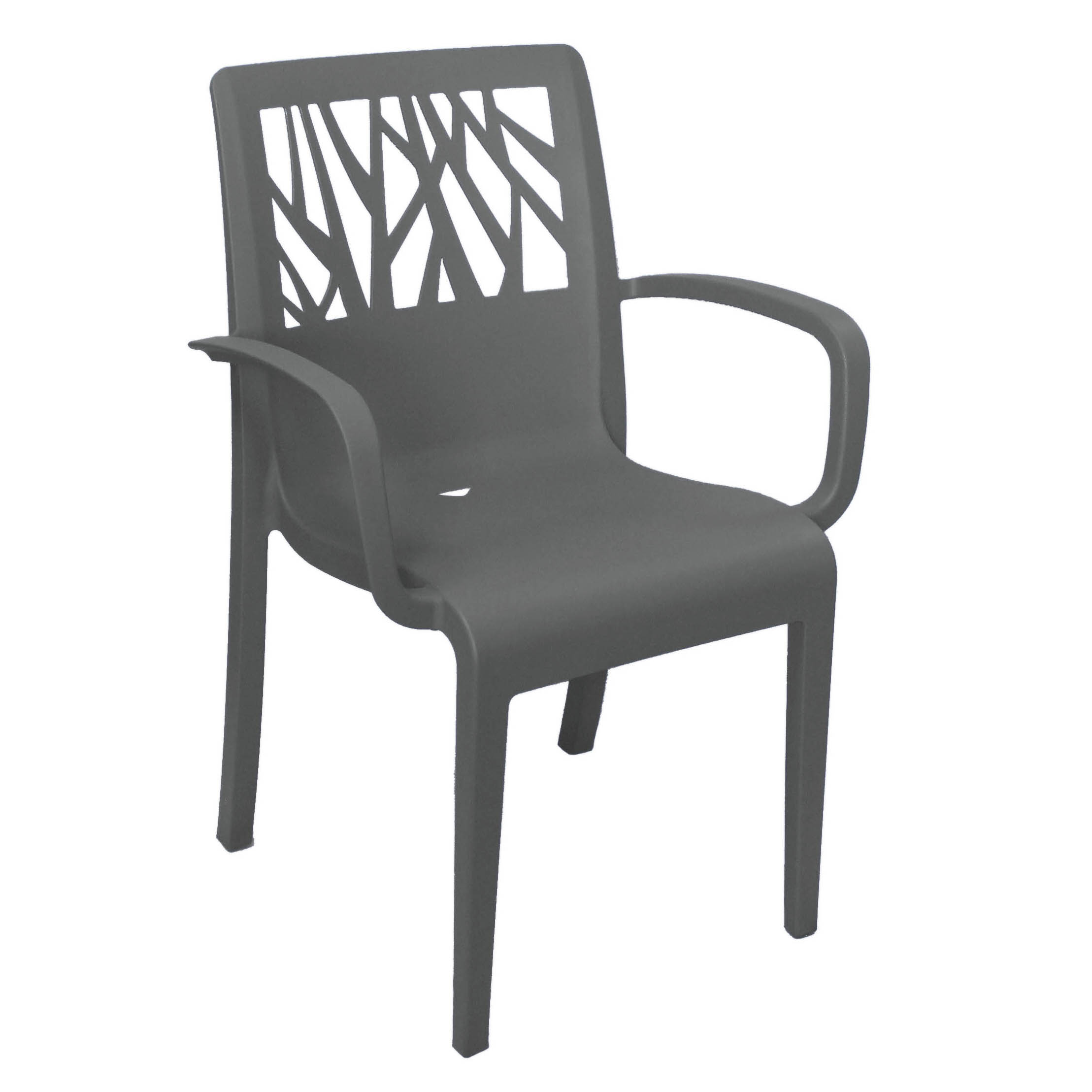 Grosfillex US201002 chair, armchair, stacking, outdoor