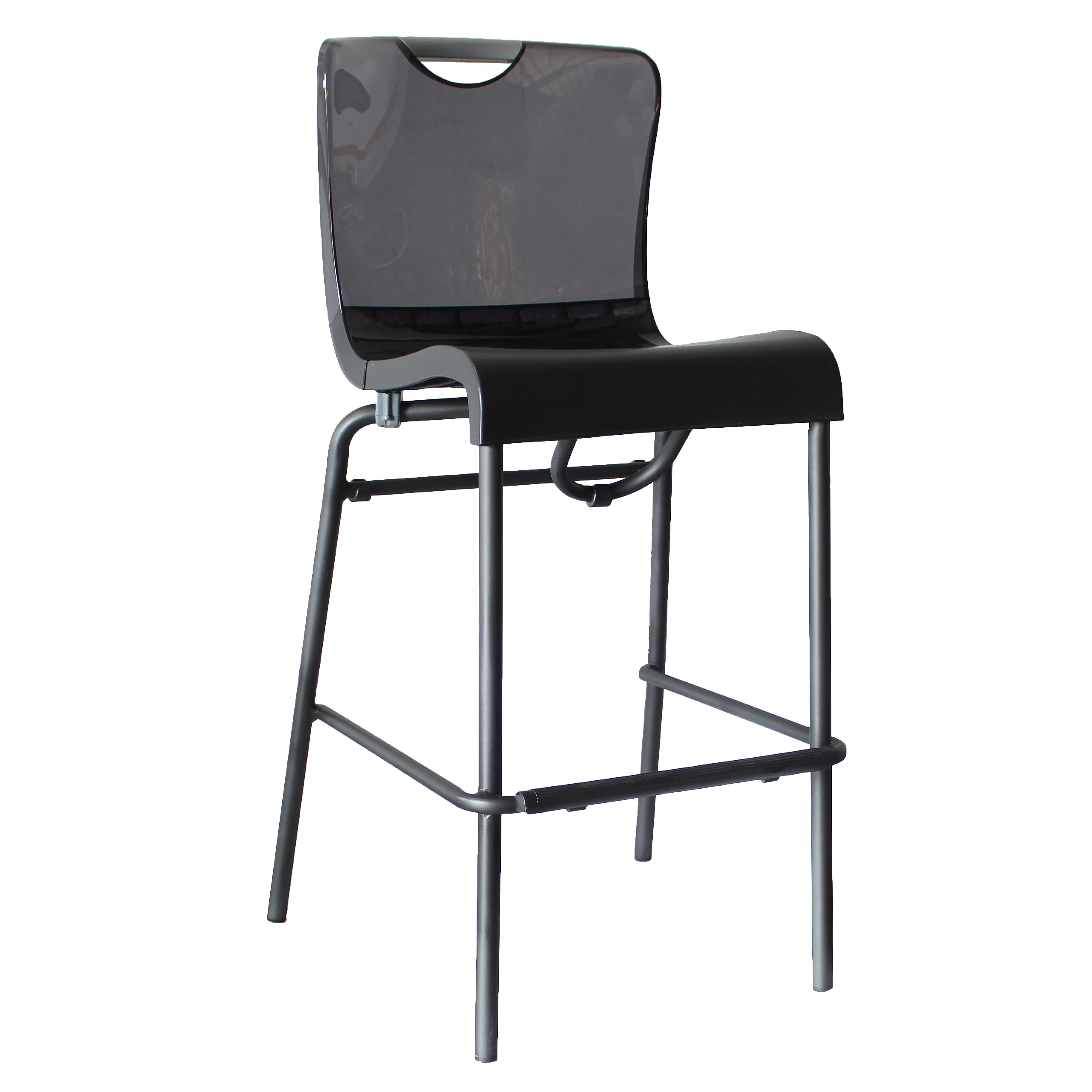 Grosfillex US229208 bar stool, stacking, indoor
