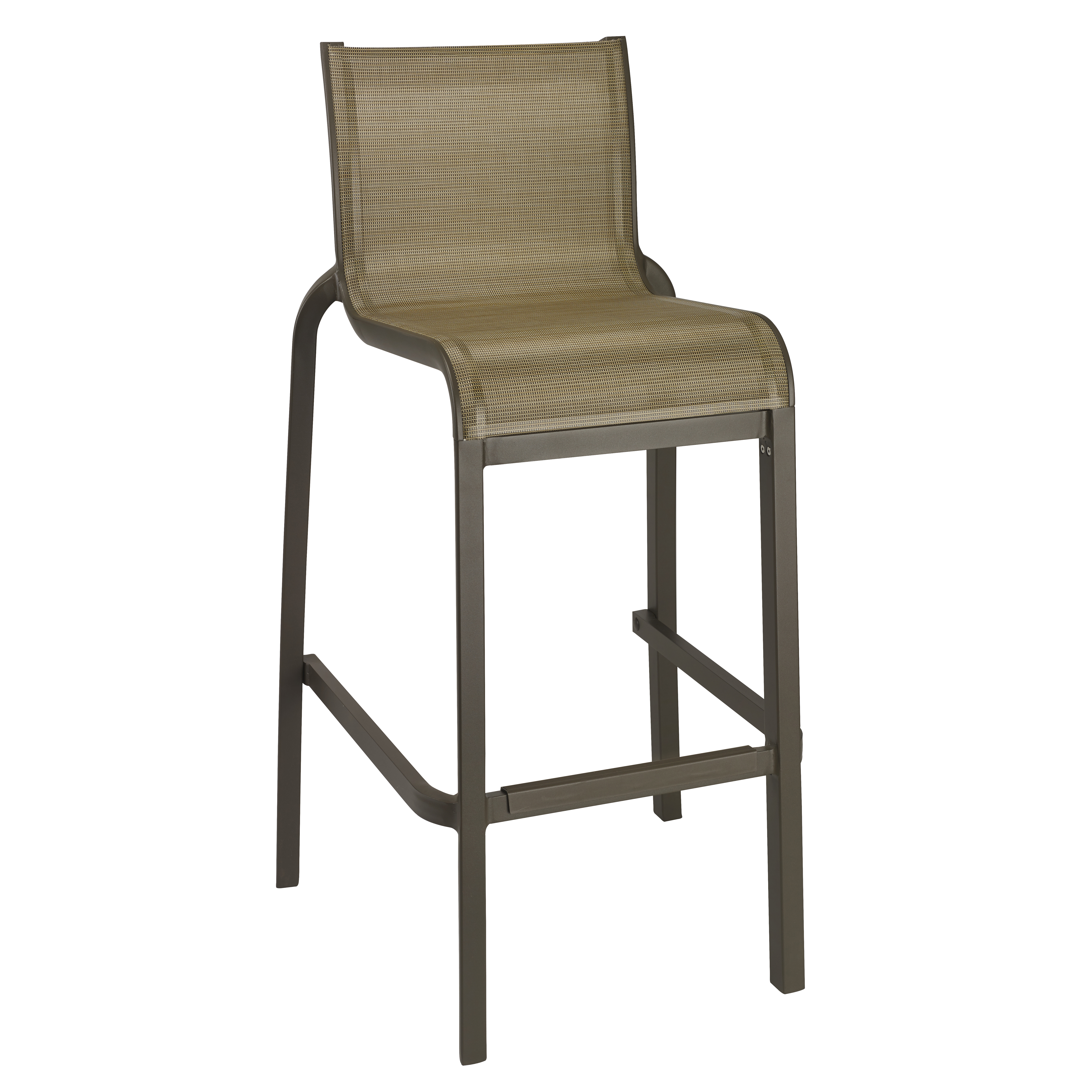 Grosfillex US300599 bar stool, stacking, outdoor