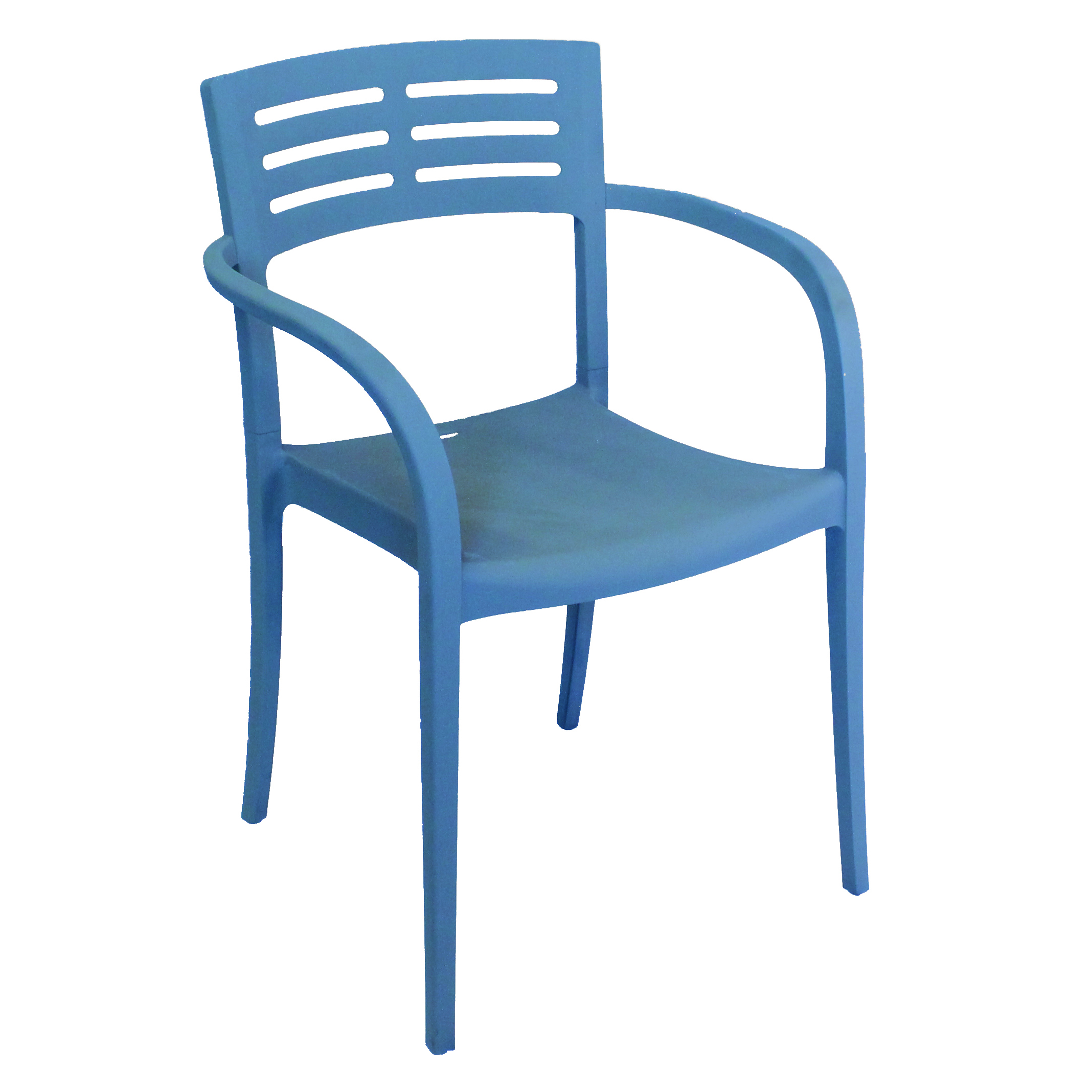 Grosfillex US336680 chair, armchair, stacking, outdoor
