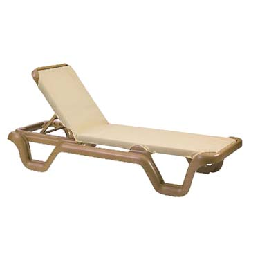 Grosfillex US414108 chaise, outdoor