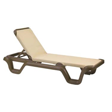 Grosfillex US414137 chaise, outdoor
