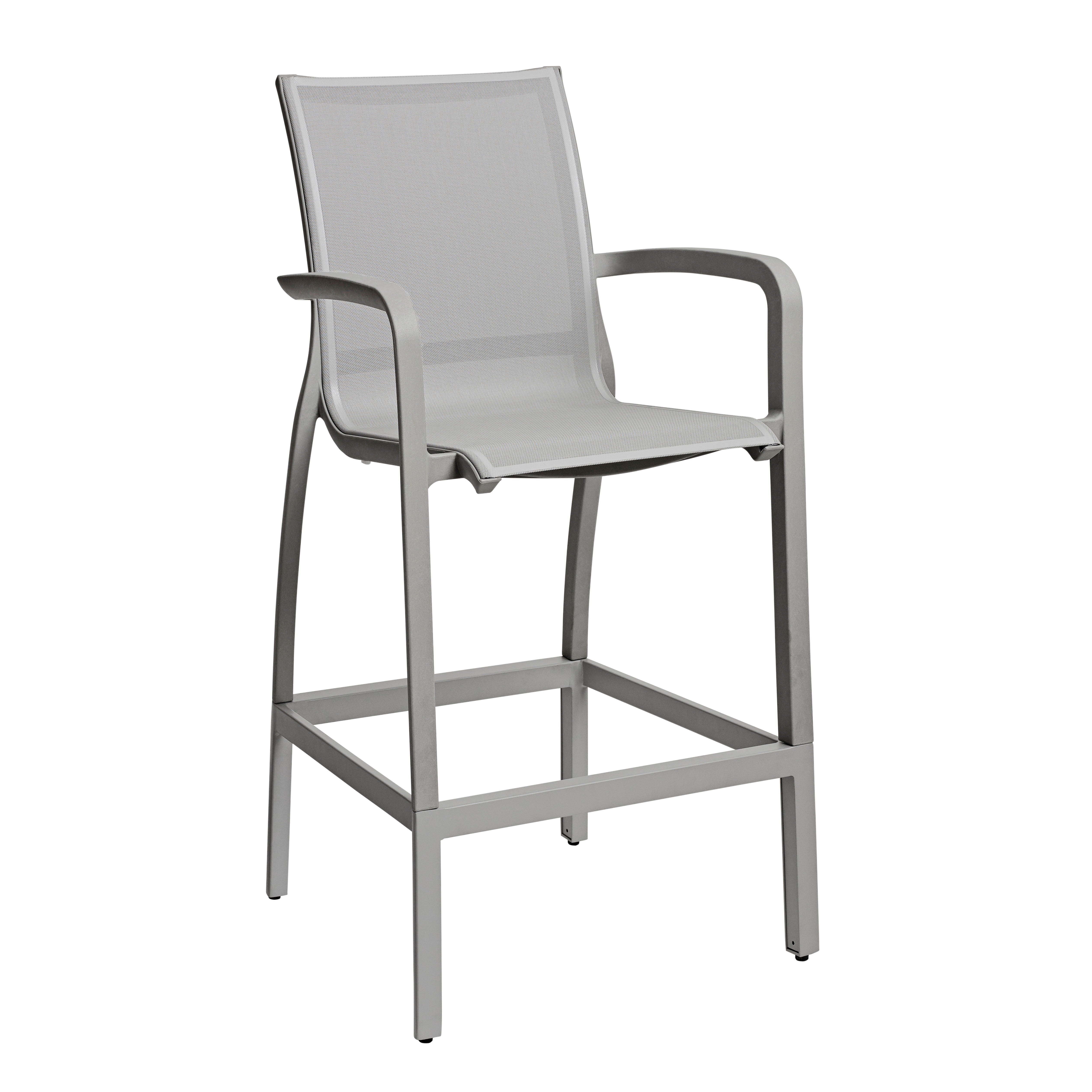 Grosfillex US469289 bar stool, outdoor