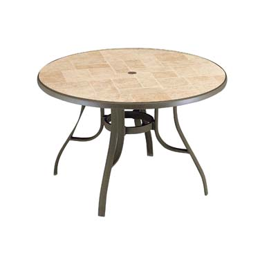 Grosfillex US527137 table, outdoor
