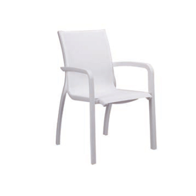 Grosfillex US546096 chair, armchair, stacking, outdoor