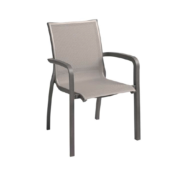 Grosfillex US546288 chair, armchair, stacking, outdoor