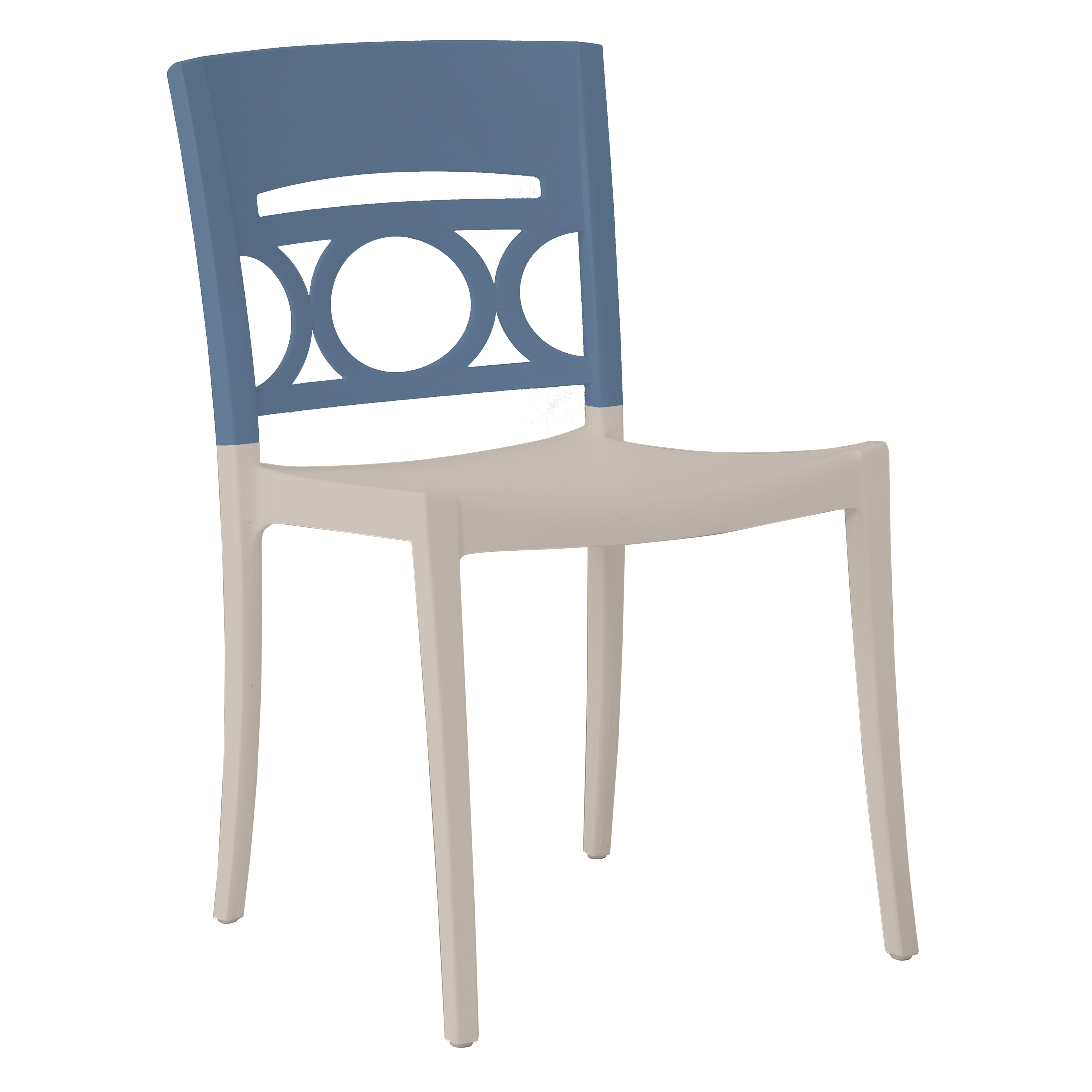 Grosfillex US566680 chair, side, stacking, outdoor
